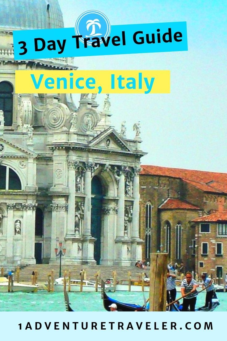 Use this handy Three Days Venice Travel Guide as you wander the cobblestone streets of Venice. See the highlights of your trip with these website links.   #Venice #travel #Italy #VisitItaly #VeniceTourism #TravelGuide