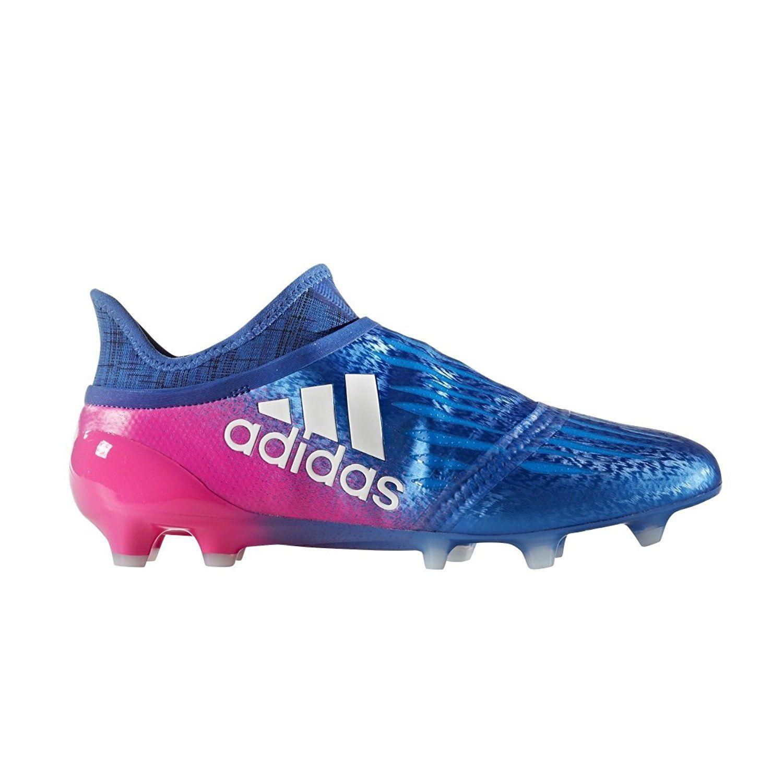 Adidas X 16 Purechaos Fg Soccer Cleats Blue Shock Pink Soccer Cleats Pink Soccer Cleats Adidas Store Soccer Cleats