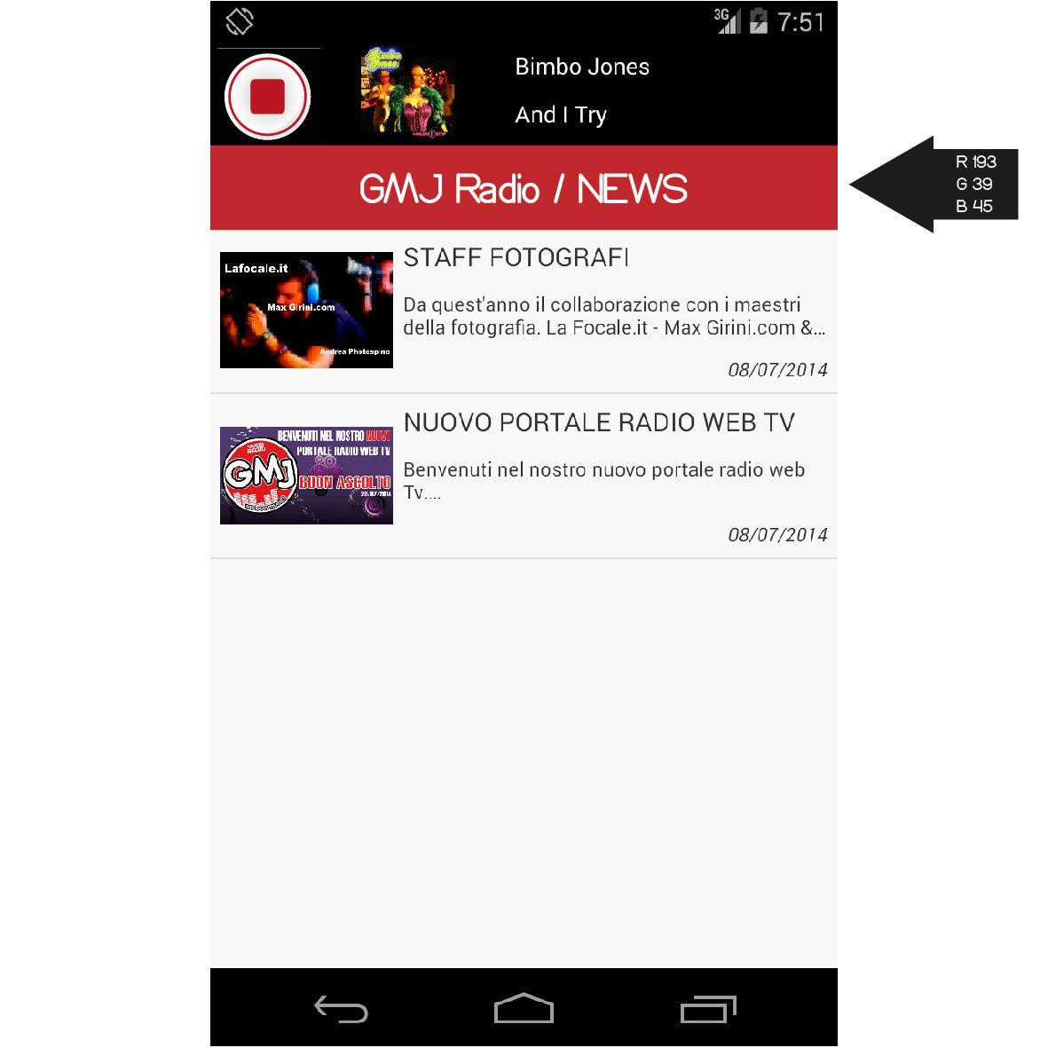 Gmj Radio App Web tv, Radio e Portale