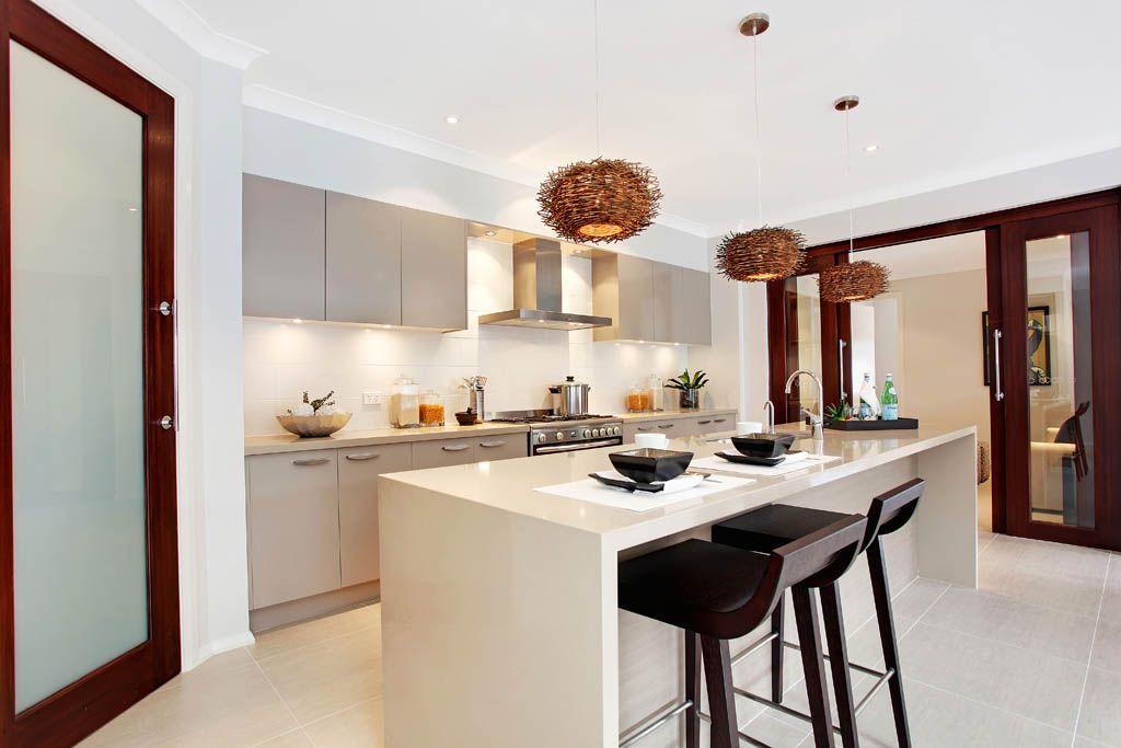 Absolute Favourite Kitchen2230 Linen™  Mcdonald Jones Homes Custom Townhouse Kitchen Design Ideas Design Ideas