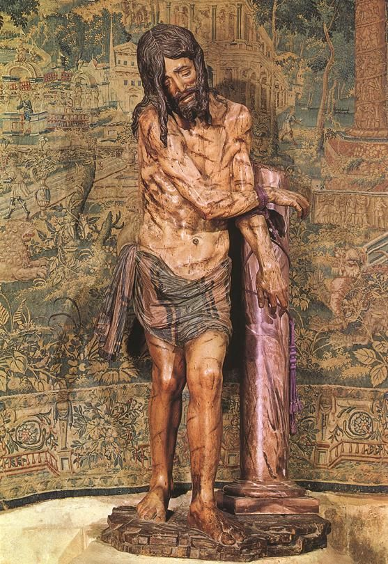 Christ at the column by diego de siloe on friends of arte sacro pinterest - Pasion puerto del rosario ...