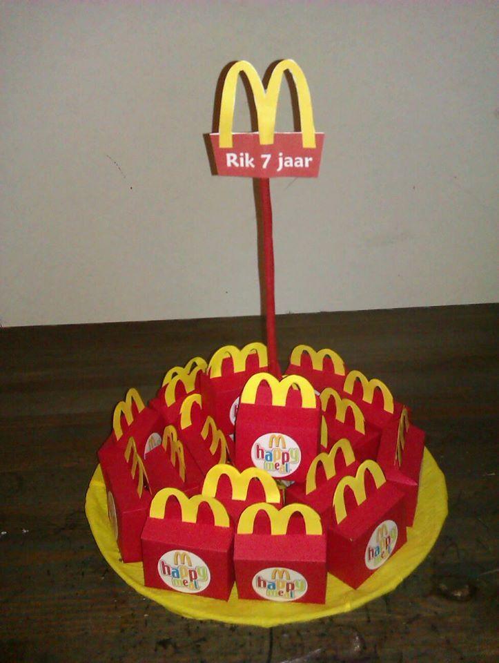 Mc Donald Traktatie Happy Meal Traktaties Verjaardag Traktaties Kinderfeestje