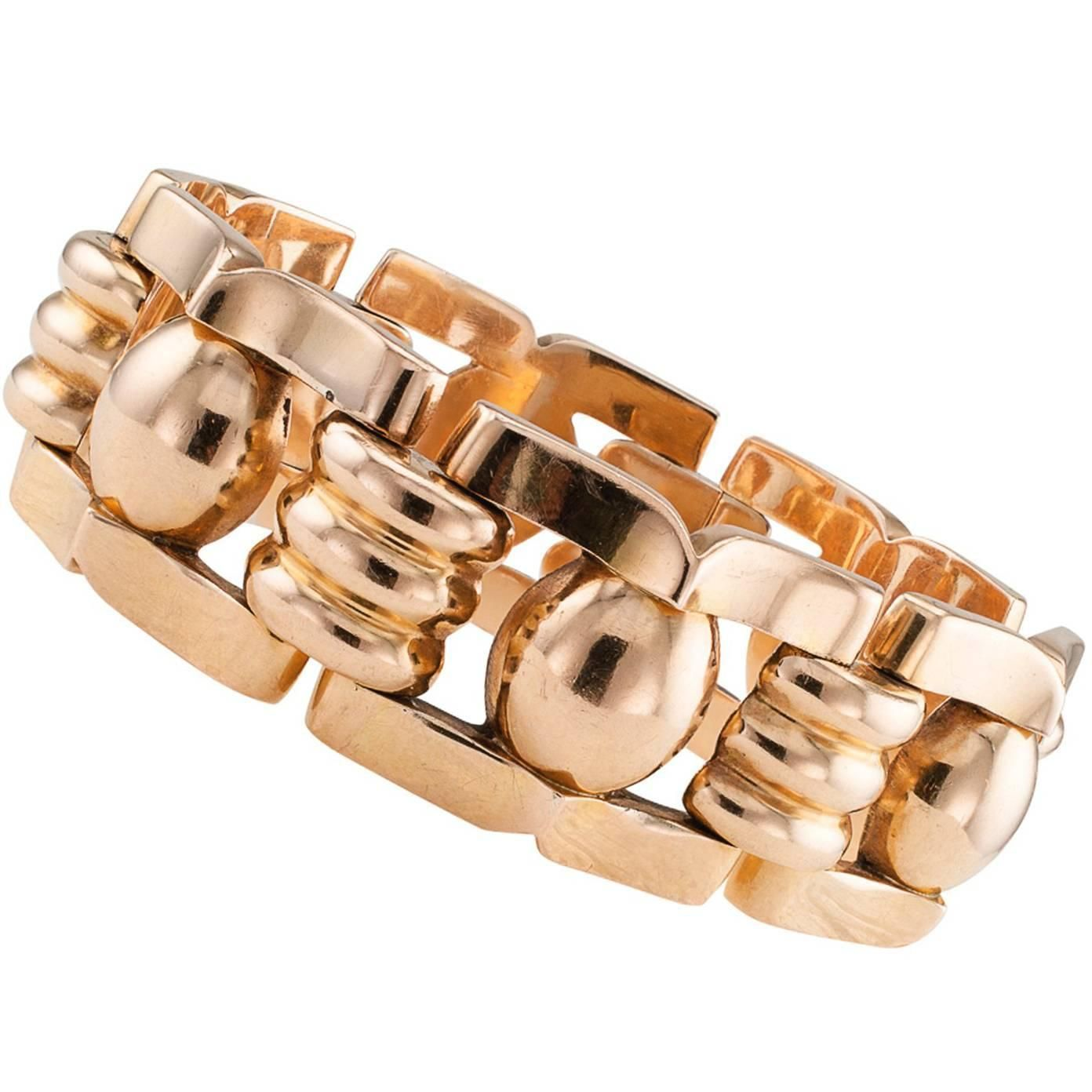 cleef retro img product diamond andrew buckle bracelet arpels van gold