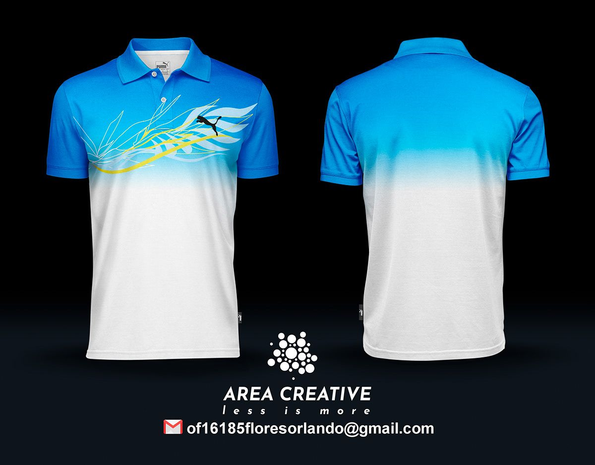 Camisetas Tipo Polo On Behance In 2020 Sport Shirt Design Men Short Sleeve Sports Shirts