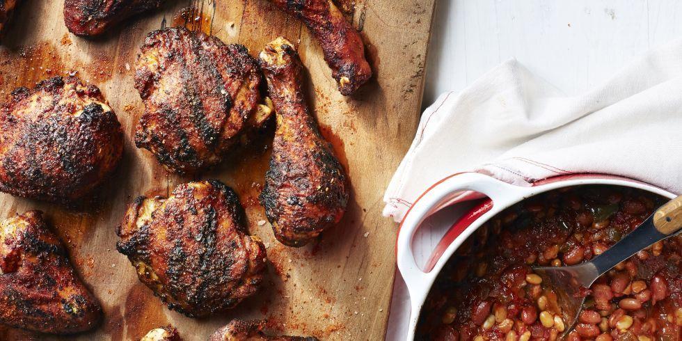 Dryrubbed memphisstyle grilled chicken recipe