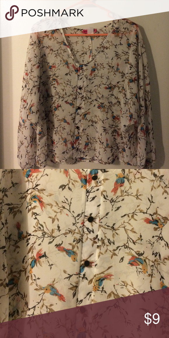 Body Central Sale >> Bird Boho Blouse From Body Central Moving Sale Make An