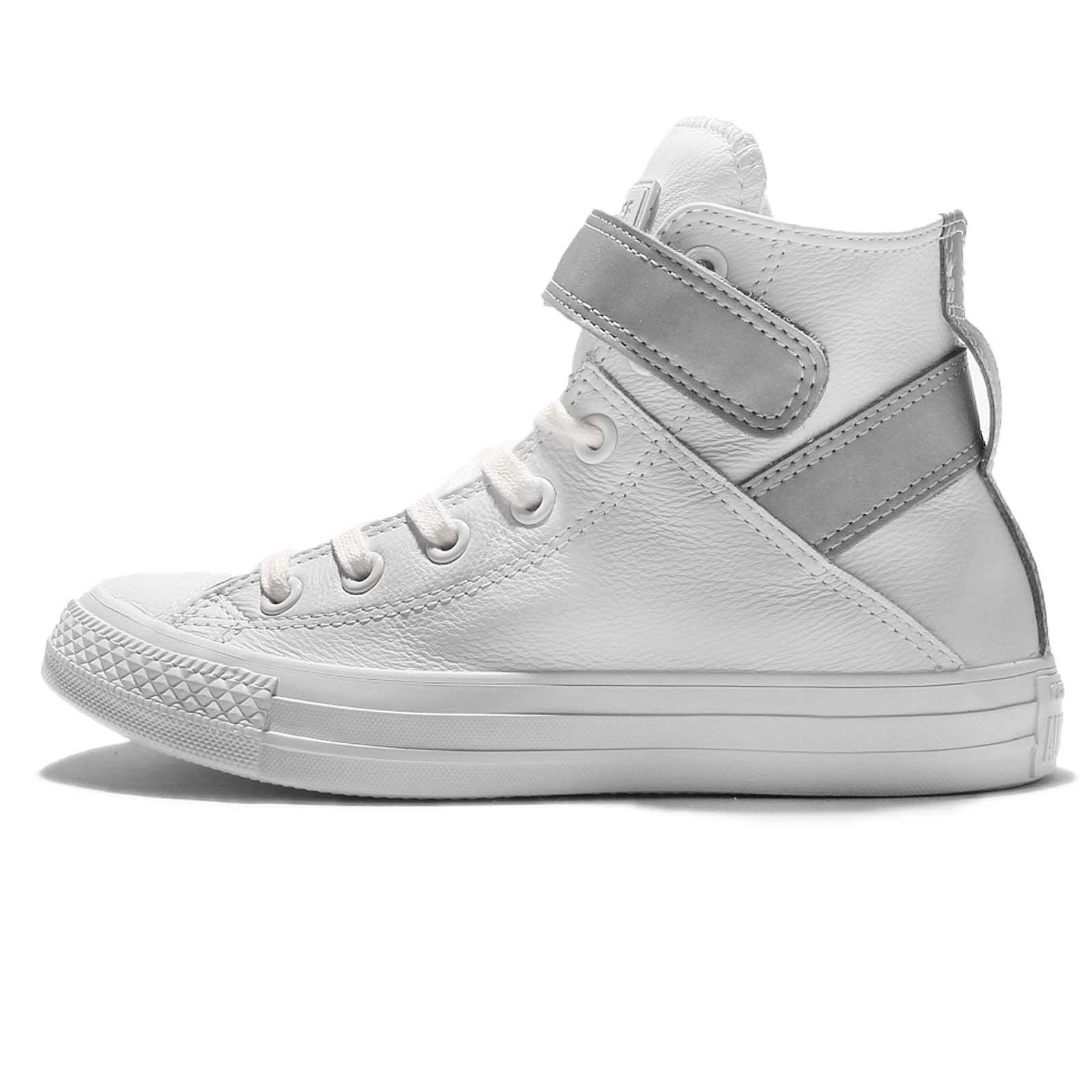 d7722ee5286 Converse Converse Chuck Taylor All Star Reflective Brea High Top Shoe womens  skateboarding-shoes 553423C 6