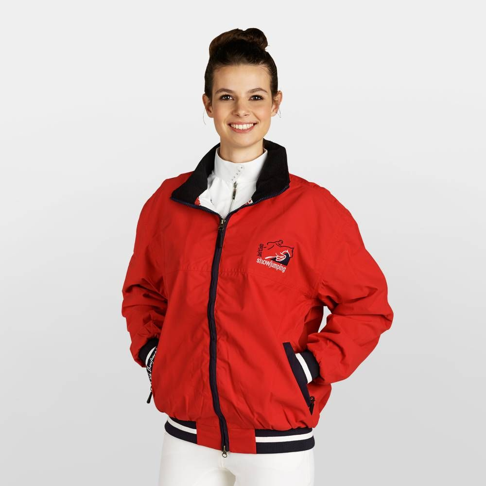 British Showjumping Oxer Blouson Fleece Lined Rtb Adults Equestrian Clearance Jackets For Women Jackets Blouson [ 1000 x 1000 Pixel ]
