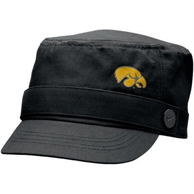 big sale best website multiple colors Nike Iowa Hawkeyes Ladies Black Cadet Hat Price: $23.95 | Cadet ...