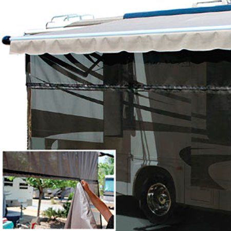 Carefree 701509 Carefree Ez Zipblocker 15 X 9 Walmart Com In 2020 Light Travel Trailers Camper Trailer For Sale Awning Shade