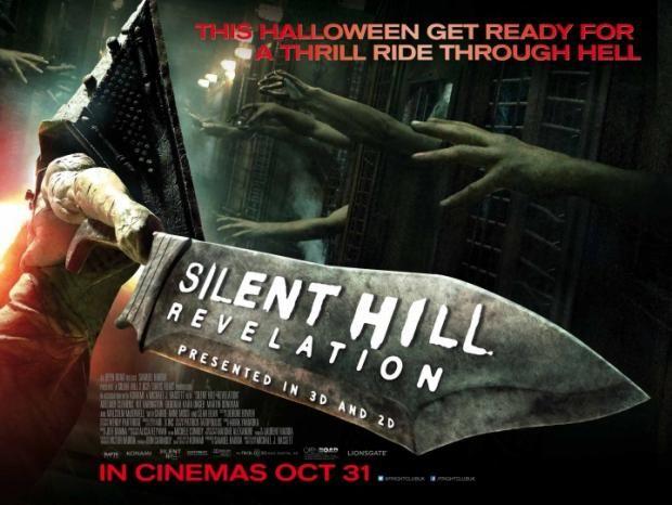 Uk Poster For Silent Hill Revelation 3d Den Of Geek Silent Hill Silent Hill Revelation Silent Hill Movies