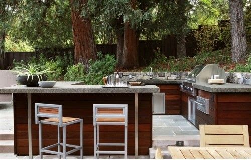 Houzz Home Design Decorating And Remodeling Ideas And Inspiration Kitchen And Bathroom D Modern Outdoor Kitchen Outdoor Kitchen Outdoor Kitchen Countertops