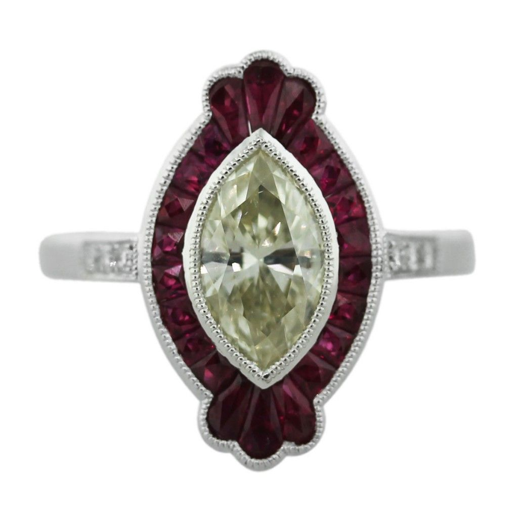 Engagement ring eye candy gemstone engagement rings marquise cut