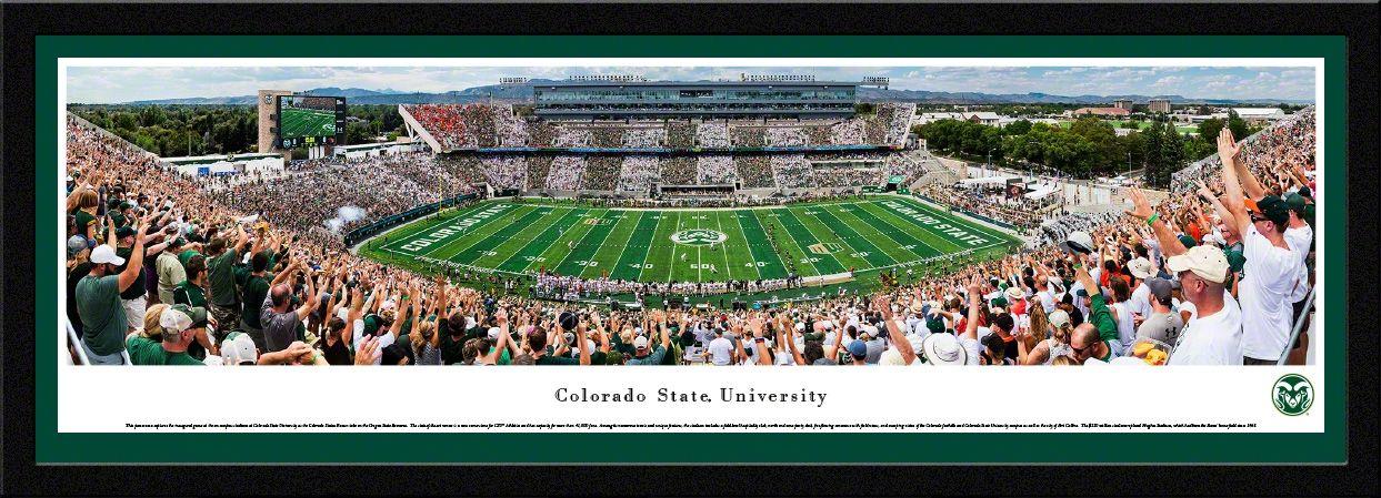 Colorado State Rams Panoramic Picture Colorado State