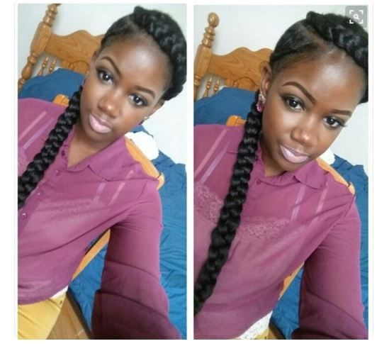 Long Medium Box Braids With Images Box Braids Styling Natural