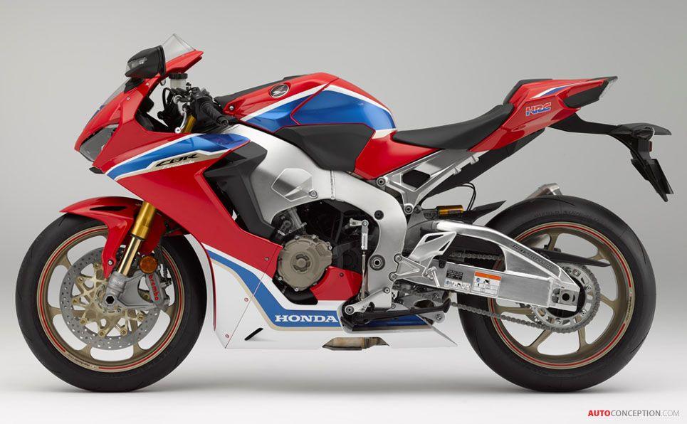 All New 2017 Honda Cbr1000rr Fireblade Unveiled Autoconception Com Honda Cbr Honda Fireblade Honda Sport Bikes