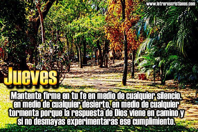 Jueves – Mantente firme « Letreros Cristianos.com :: Imagenes Cristianas, Imagenes para Facebook, Frases Cristianas