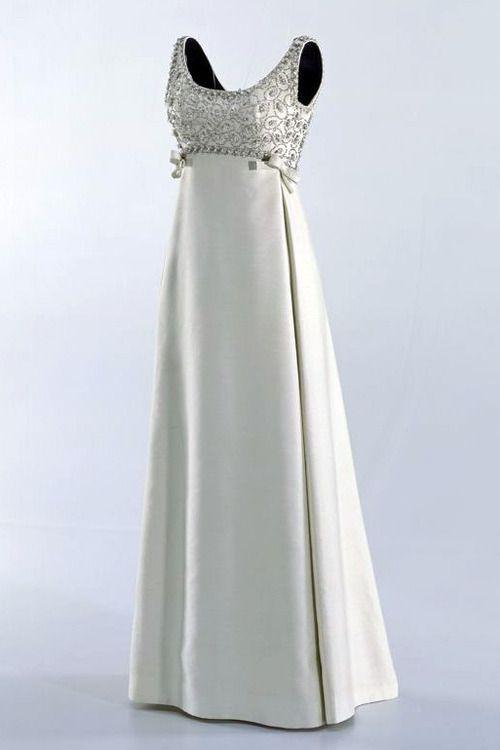 Yves Saint Laurent Evening Dress 1965 Gorgeous Vintage Dresses Evening Dresses Fashion