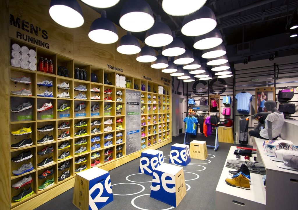 reebok fit hub store crossfit gym opens in new york city interior design shops nyc Reebok, Fifth Avenue, New York; Photo courtesy of Gensler, Boston