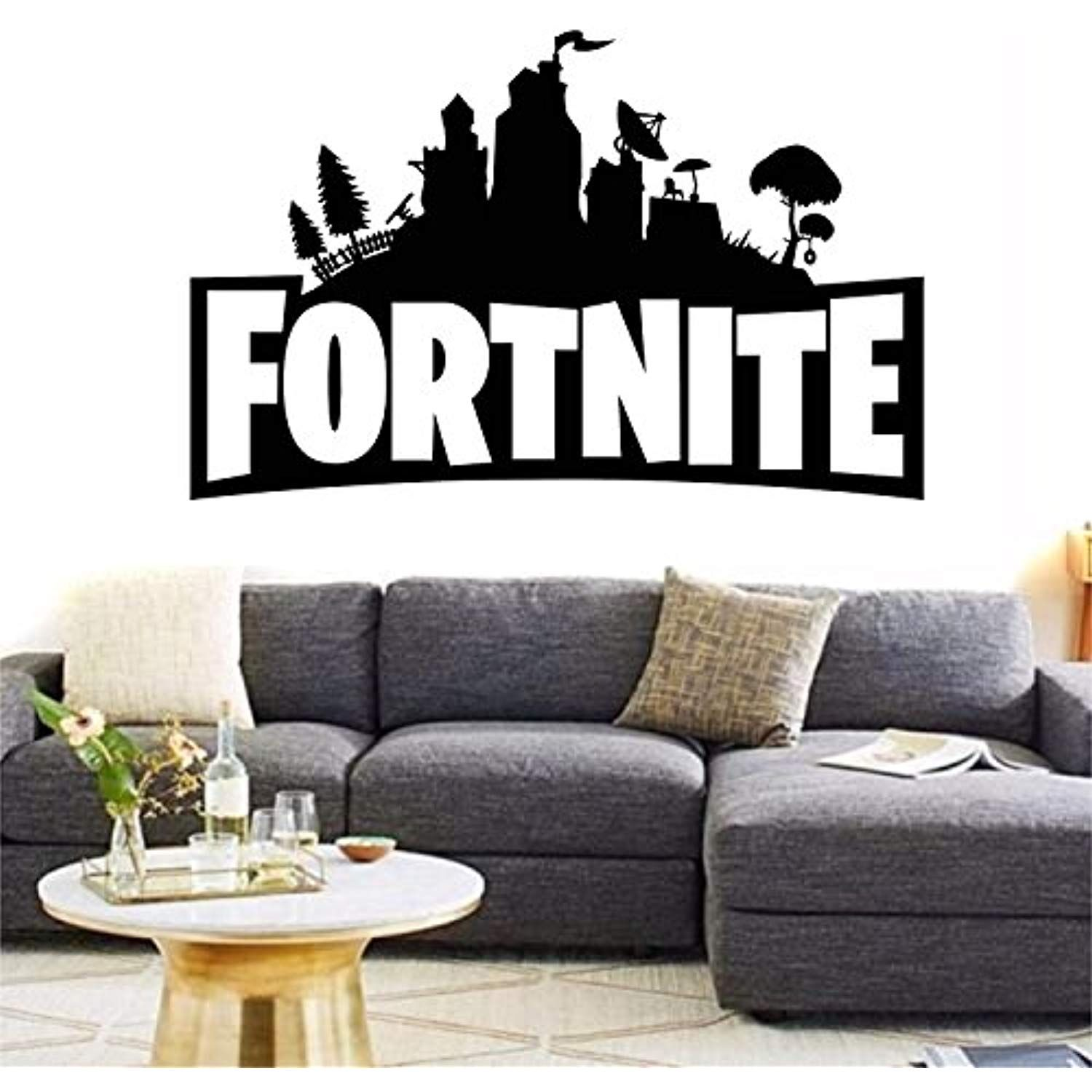 Land Fortnite Virtual Gamer Pc Xbox One Ps4 Decal Home