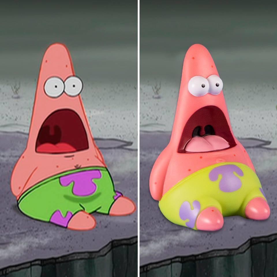 official Surprised Patrick figurine Surprised Patrick