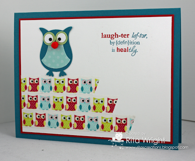 Rita's Creations: Stampin' Up! Wetlands and Owl Punch
