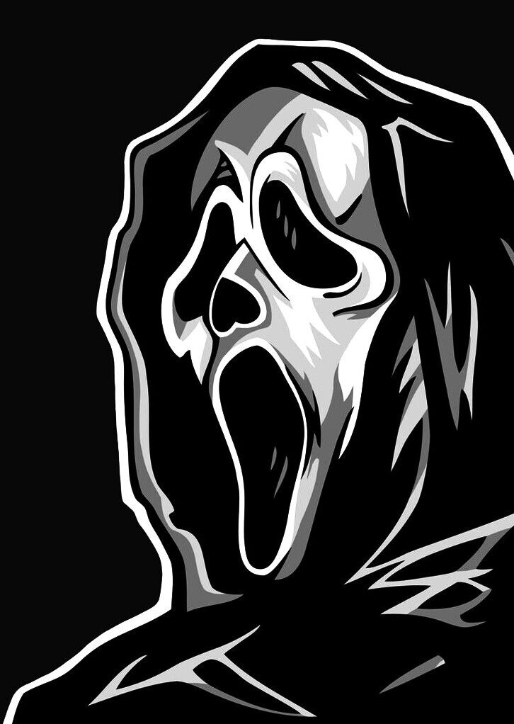 Ghostface Horror Movie Icons Horror Movie Art Ghost Faces