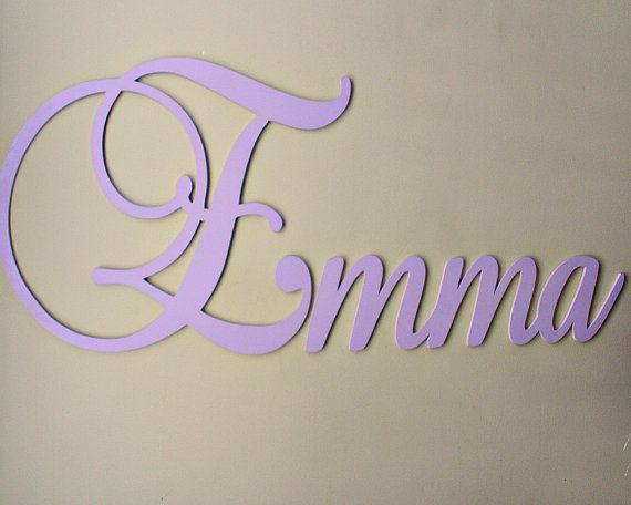 Large Wooden Letters For Nursery Decor Personalized Wall Decorative Kids Name Sign Wood Baby