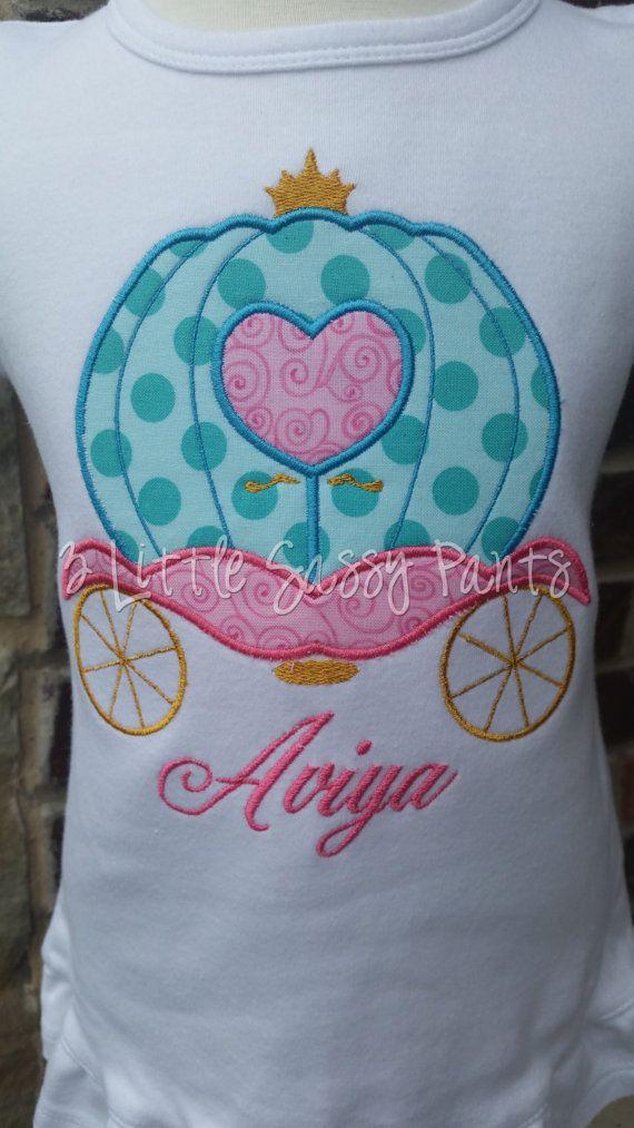 96c40667c Princess Carriage Shirt Custom Girls Carriage by 3LittleSassyPants ...