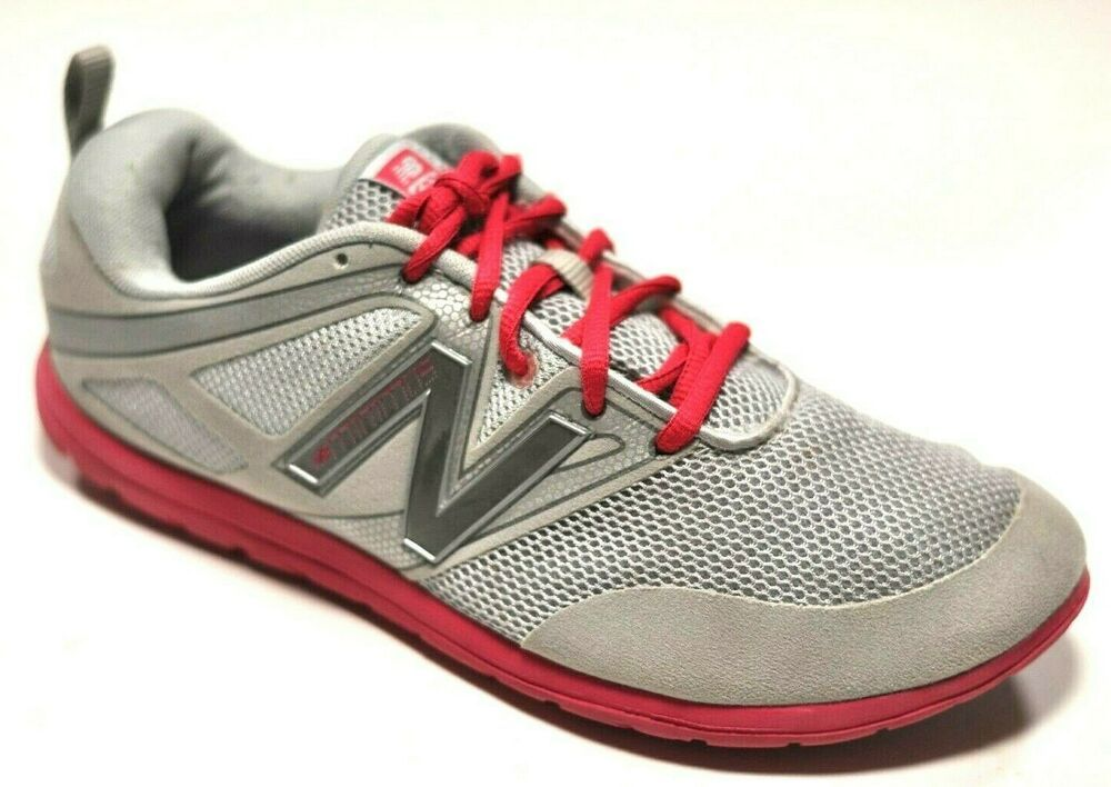 1e9038cd12 New Balance Minimus Barefoot Running Shoes Gray and Pink WX20SP ...