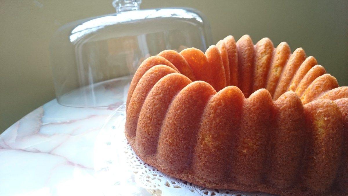 Orange Cake in a Bundt Pan