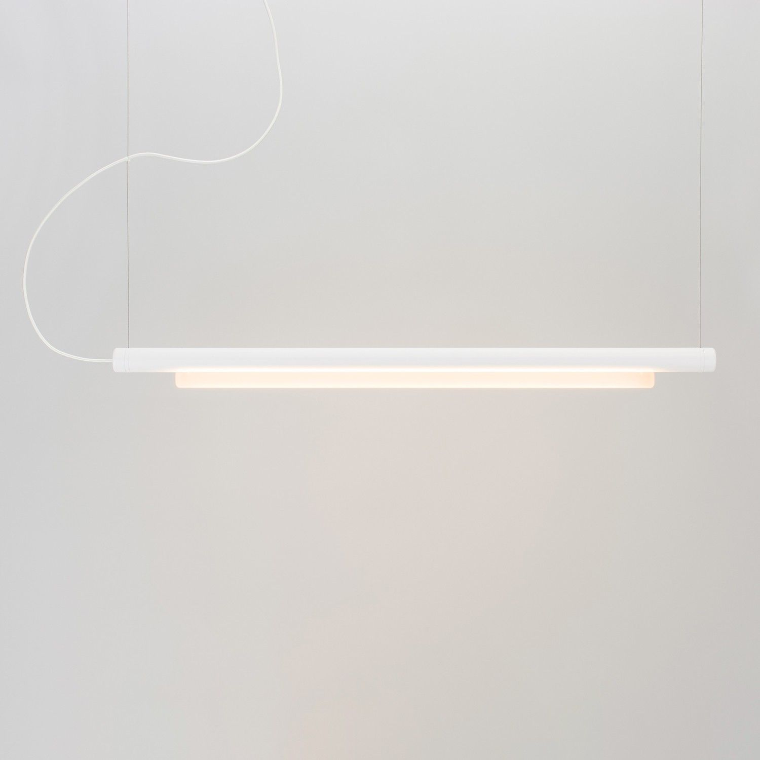linear pendant lighting. The Pipeline 125 LED Linear Pendant Light Which Facilitates Virtually Unlimited Potential In Composition Of Its Components. Lighting N