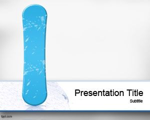 Snowboard powerpoint template is a free winter sports template that snowboard powerpoint template is a free winter sports template that you can download for sports presentations toneelgroepblik Gallery