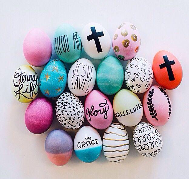 Easter egg decorating ideas cascarones Pinterest Huevos - huevos decorados