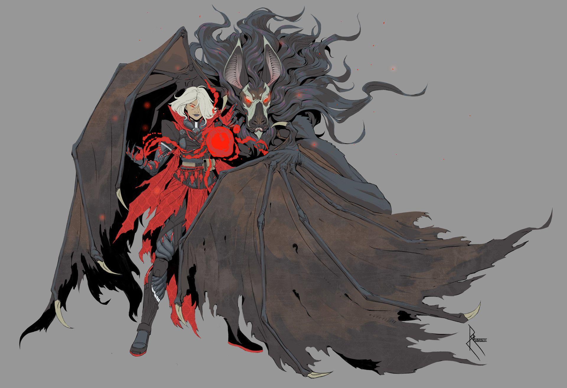 Hemophage powerful blood magic users capable of casting