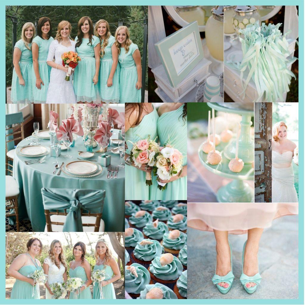 Light Blue Wedding Ideas: Pantone Limpet Shell Pantone 13-4810 Light Blue Aqua