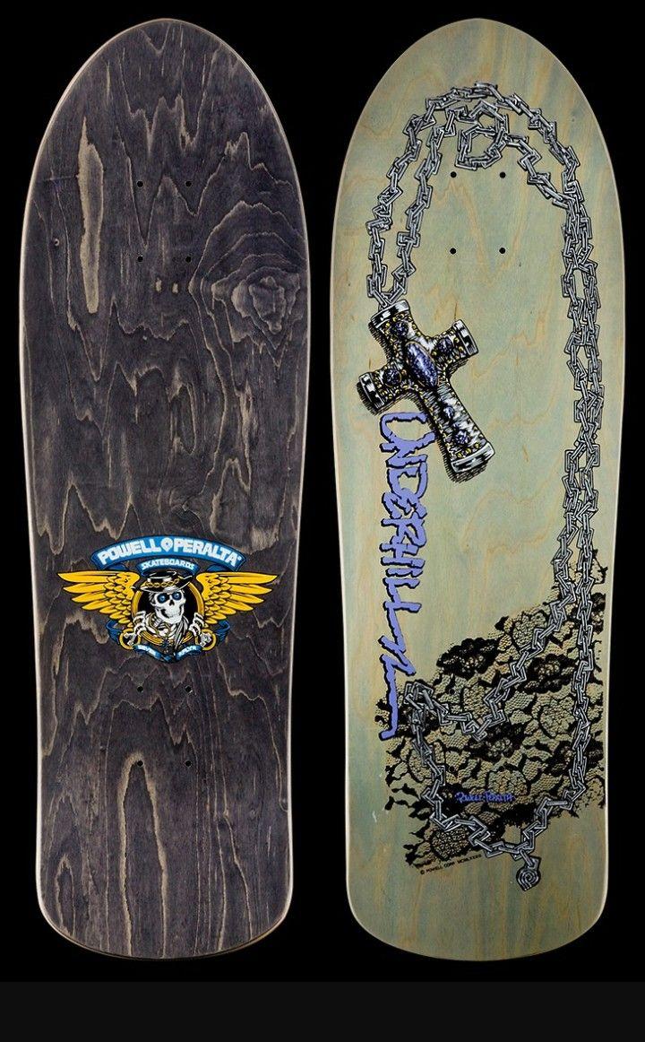 27bf6bf1c1 Powell Peralta Ray Underhill deck Skate Decks, Skateboard Decks, Vintage  Skateboards, Skate Surf