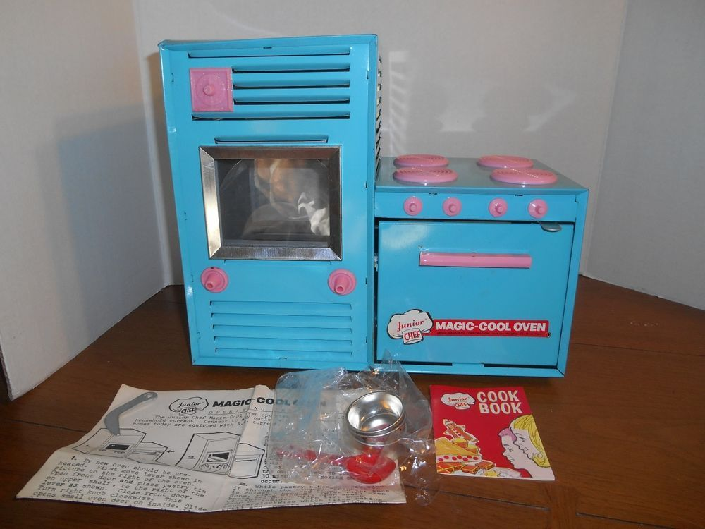 Vtg Child S Oven Junior Chef Magic Cool Oven Electric Arco Industries Instruc Argo Junior Chef Cool Stuff Electric Oven