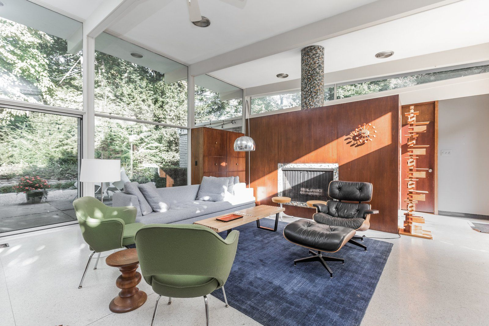 A midcentury gem by a famed indiana architect offered at k