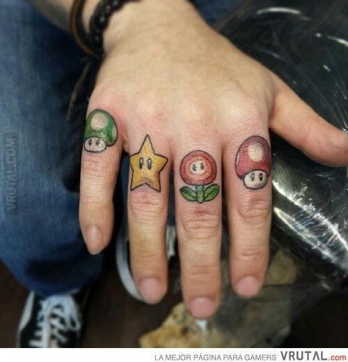 c3aa26c3d Super Mario Tattoo, Funny Tattoos, Nerd Tattoos, Pin Up Tattoos, Life  Tattoos