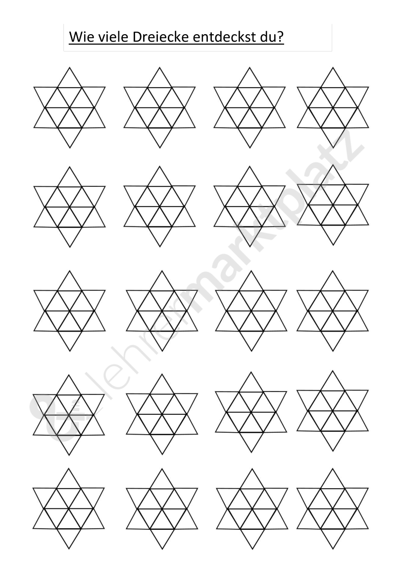 Erfreut Mathe Dreiecke Arbeitsblatt Fotos - Gemischte Übungen ...