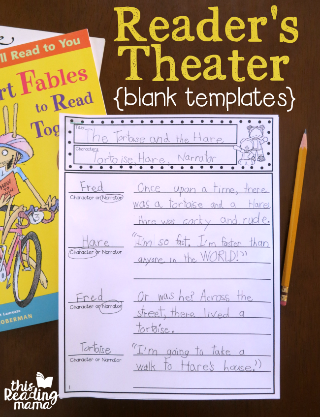 This is a graphic of Peaceful Readers Theater for Middle School Printable