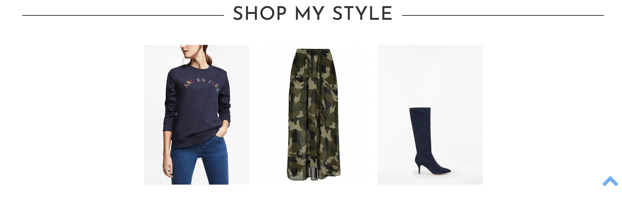 8007028c759f How to style & where to shop a camouflage skirt with a slogan sweatshirt &  kitten heel boots #ootd #wiw #lotd #over40 #over40fashion #fashion ...