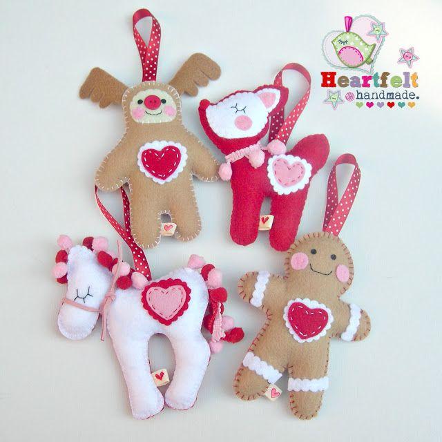 Heartfelt Handmade\u0027s Blog 5 months until Felt Gingerbread