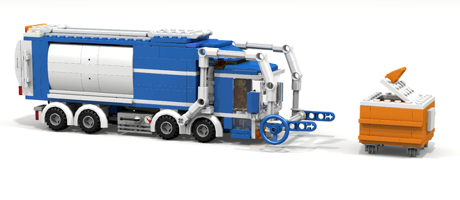 City Front Loader Garbage Truck Projects To Try Lego Truck
