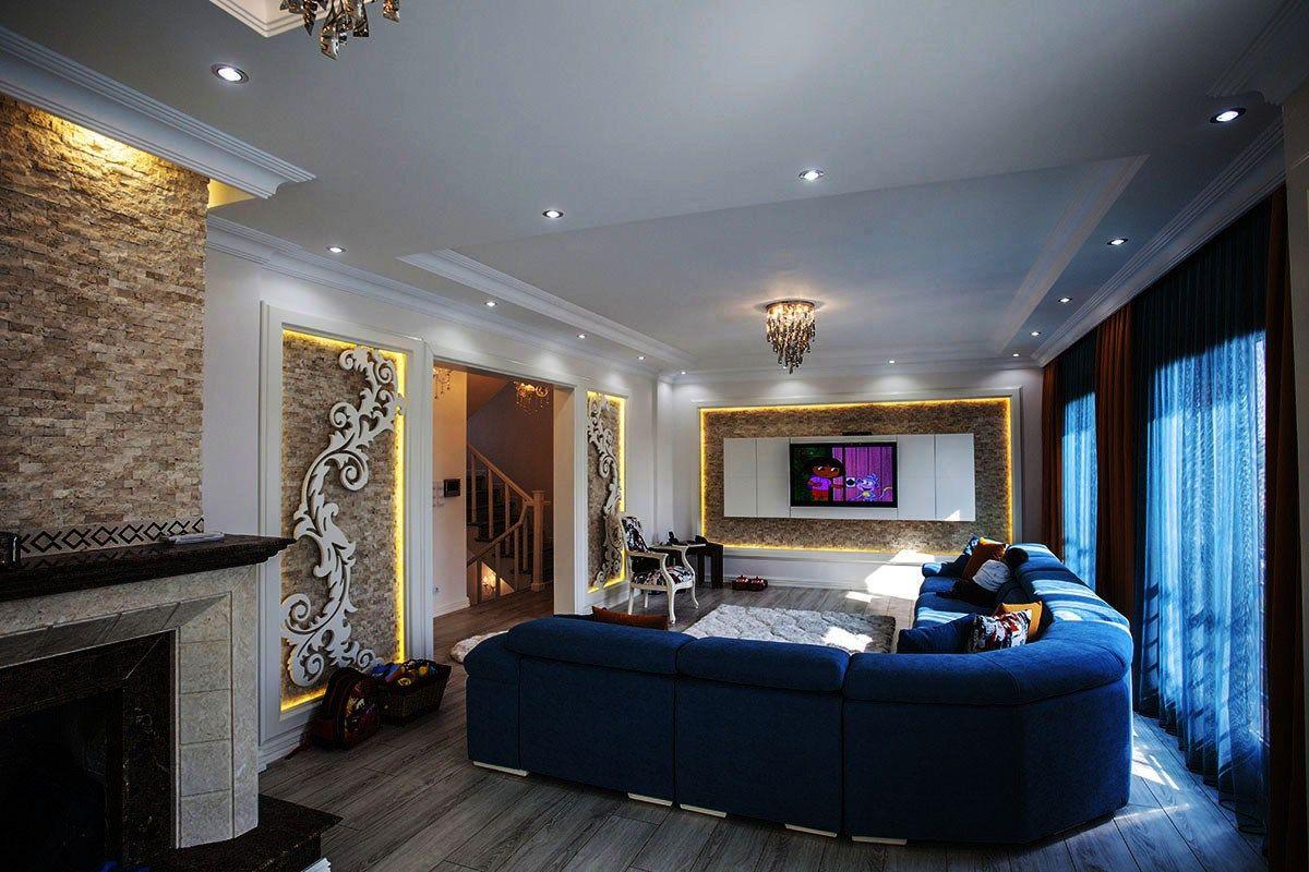 Modern Tarz Mimari ile Yapılmış Villa Dekorasyonu Modern Mimari ...
