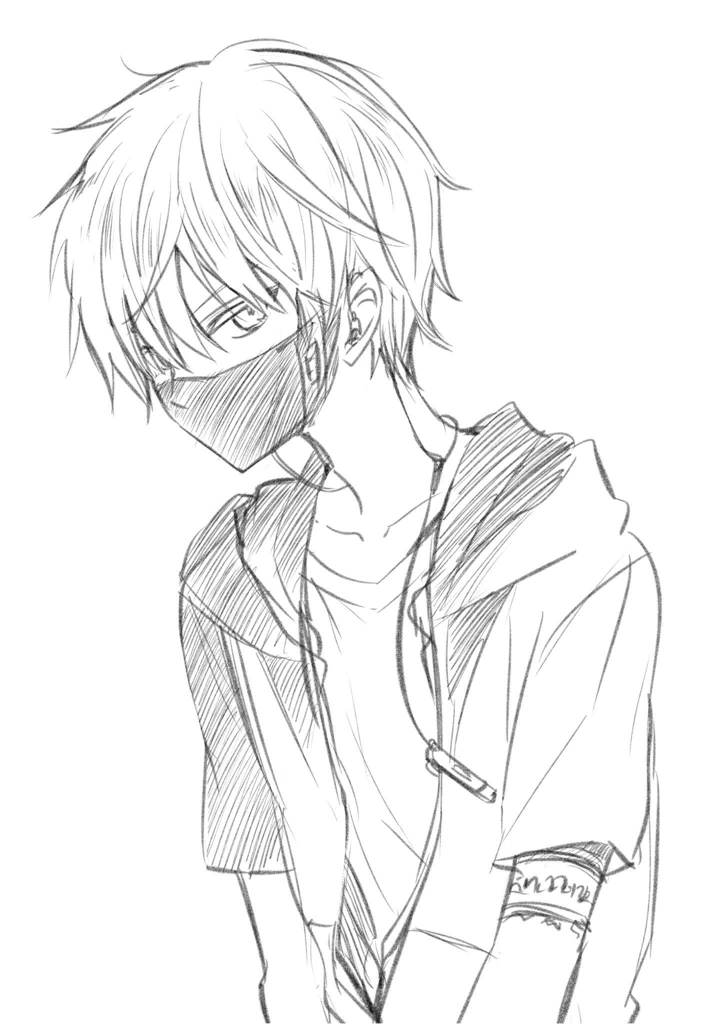 Pin By Emonightmare On Art That Inspired Me Anime Drawings Boy Anime Sketch Anime Drawings