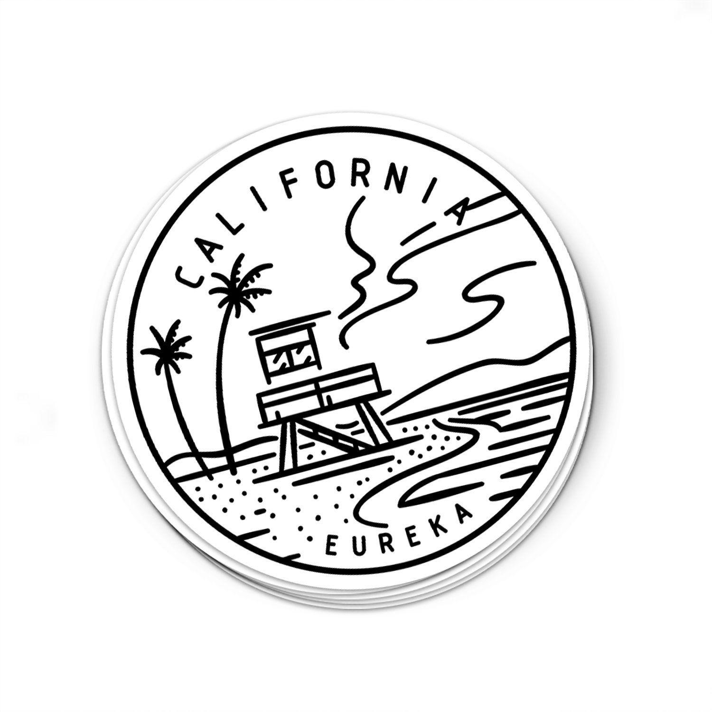 California Sticker California Decal Multiple Sizes