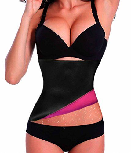 1280dfcc14695 TAILONG Sports Workout Waist Trainer Corset Shapewear Fitness Slimming  Girdle L Rose Red     To view further for this item