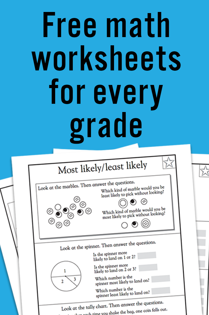 Kindergarten Math Worksheets: And 3 more makes | school | Pinterest ...